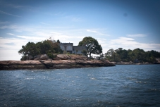 The Thimble Islands: Small rocky islands near Branford,CT make you feel as if you're cruising in Maine.